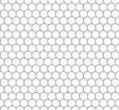 Άνευ ραφής σχέδιο του άσπρου οκταγώνου καθαρού ανασκόπηση διαφανής 10 eps Στοκ Φωτογραφία