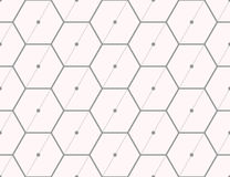 Άνευ ραφής σχέδιο του εξαγωνικού διχτυού Στοκ φωτογραφία με δικαίωμα ελεύθερης χρήσης