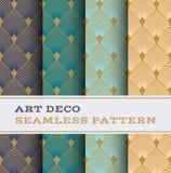 Άνευ ραφής σχέδιο 03 του Art Deco Στοκ φωτογραφία με δικαίωμα ελεύθερης χρήσης