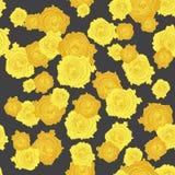 Άνευ ραφής σχέδιο 002 τριαντάφυλλων Στοκ φωτογραφία με δικαίωμα ελεύθερης χρήσης