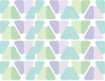 Άνευ ραφής σχέδιο τριγώνων με τις στρογγυλές γωνίες κανένα αυτόματο σχέδιο Στοκ φωτογραφία με δικαίωμα ελεύθερης χρήσης