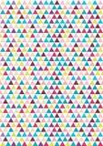 Άνευ ραφής σχέδιο τριγώνων Στοκ εικόνες με δικαίωμα ελεύθερης χρήσης