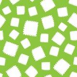 Άνευ ραφής σχέδιο των άσπρων μορφών καρδιών Στοκ Εικόνες