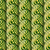 Άνευ ραφής σχέδιο των αυγών με τους κύκλους και τα κύματα απεικόνιση αποθεμάτων