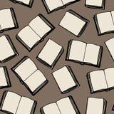 Άνευ ραφής σχέδιο των βιβλίων Στοκ Φωτογραφίες