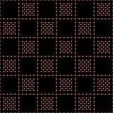 Άνευ ραφής σχέδιο των μικρών κύκλων σε ένα checkerboard σχέδιο Στοκ εικόνα με δικαίωμα ελεύθερης χρήσης