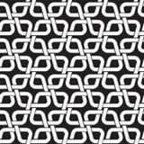 Άνευ ραφής σχέδιο των συνδέσεων με μορφή rhombs Στοκ φωτογραφίες με δικαίωμα ελεύθερης χρήσης