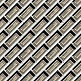 Άνευ ραφής σχέδιο των χρωματισμένων ορθογωνίων Στοκ Εικόνα
