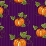 Άνευ ραφής σχέδιο φθινοπώρου, τύλιγμα δώρων, πρόσκληση για αποκριές ή ημέρα των ευχαριστιών, set3 Στοκ Εικόνες