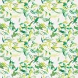 Άνευ ραφής σχέδιο φτερών μελανιού Συρμένο χέρι doodle διανυσματικό υπόβαθρο Στοκ φωτογραφία με δικαίωμα ελεύθερης χρήσης