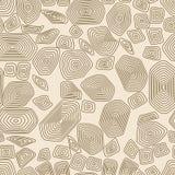 Άνευ ραφής σχέδιο χελωνών Καφετής και μπεζ Ταπετσαρία τερραπινών Στοκ εικόνες με δικαίωμα ελεύθερης χρήσης
