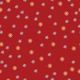 Άνευ ραφής σχέδιο Χριστουγέννων με snowflakes Στοκ εικόνες με δικαίωμα ελεύθερης χρήσης