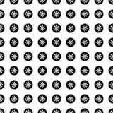 Άνευ ραφής σχέδιο Χριστουγέννων με snowflakes Στοκ φωτογραφίες με δικαίωμα ελεύθερης χρήσης