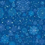 Άνευ ραφής σχέδιο Χριστουγέννων Στοκ εικόνα με δικαίωμα ελεύθερης χρήσης