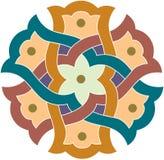 Άνευ ραφής σχέδιο Arabesque Στοκ Εικόνα