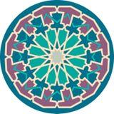 Άνευ ραφής σχέδιο Arabesque Στοκ εικόνα με δικαίωμα ελεύθερης χρήσης