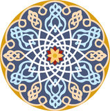Άνευ ραφής σχέδιο Arabesque απεικόνιση αποθεμάτων