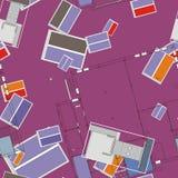 Άνευ ραφής σχέδιο Architectura Στοκ φωτογραφίες με δικαίωμα ελεύθερης χρήσης