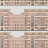 Άνευ ραφής σχέδιο Architectura Στοκ εικόνες με δικαίωμα ελεύθερης χρήσης