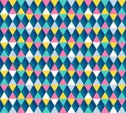 Άνευ ραφής σχέδιο Argyle, τέσσερις επιλογές χρώματος επίσης corel σύρετε το διάνυσμα απεικόνισης Στοκ Φωτογραφίες
