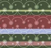 Άνευ ραφής σχέδιο Christmassy Απεικόνιση αποθεμάτων
