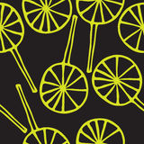 Άνευ ραφής σχέδιο lollipops Στοκ φωτογραφίες με δικαίωμα ελεύθερης χρήσης