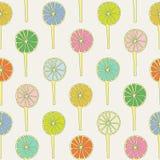 Άνευ ραφής σχέδιο lollipops Στοκ εικόνες με δικαίωμα ελεύθερης χρήσης