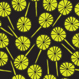 Άνευ ραφής σχέδιο lollipops Στοκ Εικόνα