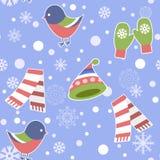 Άνευ ραφής σχέδιο - Snowflake, διάνυσμα, χιόνι, υπόβαθρα, χιόνι Στοκ εικόνες με δικαίωμα ελεύθερης χρήσης