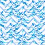 Άνευ ραφής σχέδιο Watercolor Άνευ ραφής φωτεινό backgrou Watercolor Στοκ Φωτογραφία
