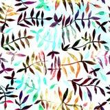 Άνευ ραφής σχέδιο Watercolor Στοκ εικόνα με δικαίωμα ελεύθερης χρήσης