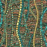 Άνευ ραφής σχέδιο Zentangle Στοκ Φωτογραφίες