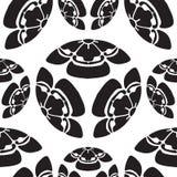 Άνευ ραφής σύμβολο επιβίωσης πεπονιών λουλουδιών στην Ιαπωνία Στοκ εικόνες με δικαίωμα ελεύθερης χρήσης