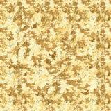 άνευ ραφής σύσταση Κίτρινο υπόβαθρο σχεδίων Grunge με την τριβή, τις ρωγμές και την αμβροσία Παλαιό εκλεκτής ποιότητας σχέδιο ύφο διανυσματική απεικόνιση