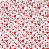 άνευ ραφής σύσταση καρδιών Στοκ φωτογραφία με δικαίωμα ελεύθερης χρήσης