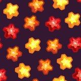 Άνευ ραφής σύσταση με τα αστέρια Στοκ φωτογραφίες με δικαίωμα ελεύθερης χρήσης