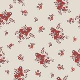 Άνευ ραφής σύσταση με τα μικρά λουλούδια Στοκ Φωτογραφία