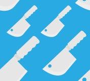 Άνευ ραφής σύσταση με τα knifes και τα backswords ελεύθερη απεικόνιση δικαιώματος