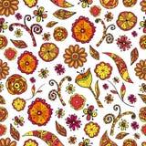 άνευ ραφής σύσταση λουλ&omic Διανυσματική απεικόνιση
