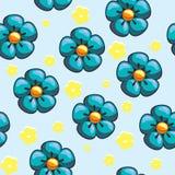 άνευ ραφής σύσταση λουλ&omic απεικόνιση αποθεμάτων