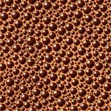 Άνευ ραφής σύσταση του αφρού και των φυσαλίδων στην επιφάνεια του καφέ Στοκ Φωτογραφία