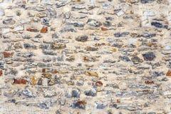 Άνευ ραφής σύσταση του παλαιού μπεζ τοίχου πετρών Στοκ φωτογραφίες με δικαίωμα ελεύθερης χρήσης