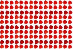 Άνευ ραφής σύσταση των κόκκινων καρδιών μαρμελάδας Στοκ εικόνες με δικαίωμα ελεύθερης χρήσης