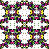 Άνευ ραφής σύσταση των χρωματισμένων φωτεινών κύκλων απεικόνιση αποθεμάτων