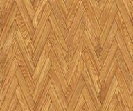 Άνευ ραφής σύσταση, φυσικό ξύλινο ψαροκόκκαλο υποβάθρου, σχέδιο δαπέδων παρκέ Στοκ Φωτογραφίες