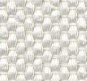 Άνευ ραφής σύσταση, χονδροειδές, υφαμένο ύφασμα, άσπρο χρώμα Στοκ εικόνα με δικαίωμα ελεύθερης χρήσης