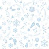 άνευ ραφής σύσταση Χριστουγέννων Στοκ Εικόνα