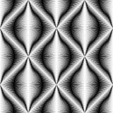 Άνευ ραφής ταπετσαρία κυμάτων Ελάχιστο γραφικό σχέδιο λωρίδων διανυσματική απεικόνιση