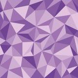 Άνευ ραφής ταπετσαρία με τα πορφυρά τρίγωνα κλίσης διανυσματική απεικόνιση