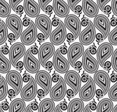 Άνευ ραφής ταπετσαρία του διανυσματικού Paisley Στοκ Εικόνα